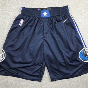 New Men's Dallas Mavericks Navy blue Shorts
